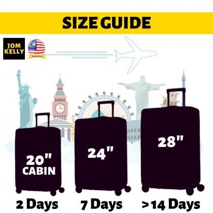 JOM KELLY PC Grade A 20 24 28 Inch Hard Case Luggage Travel Luggage
