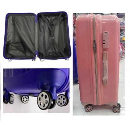 JOM KELLY Unbreakable PP Hard Shell Luggage 20 24 Inch Spinner Wheel Luggage