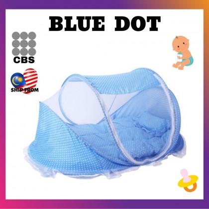 JOM KELLY 3PCS XL Baby Mosquito Net Bed Set Kelambu Baby